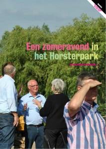 Ontmoeting en verbinding in het Horsterpark